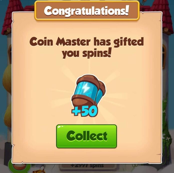 Coin master 50 free spins link